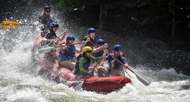 Rapid River Class IV (Select Weekends, Ages 12+)